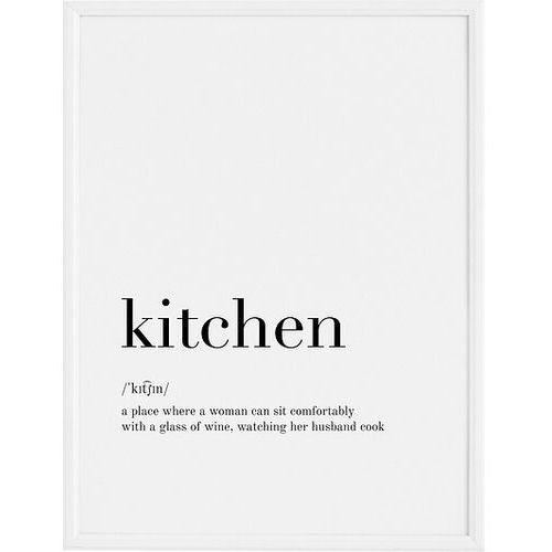 Follygraph Plakat kitchen 21 x 30 cm