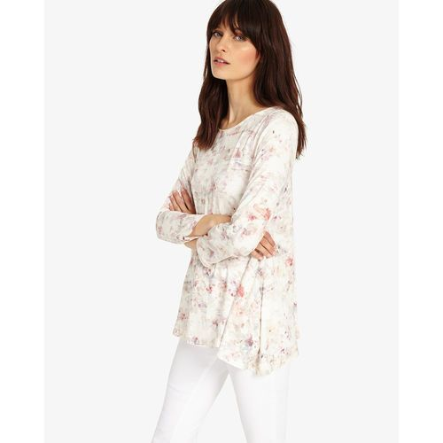 Phase Eight Etta Floral Top, kolor czerwony