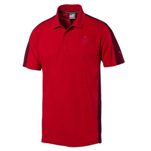 Koszulka Polo Ferrari Puma 57280302, kolor czarny