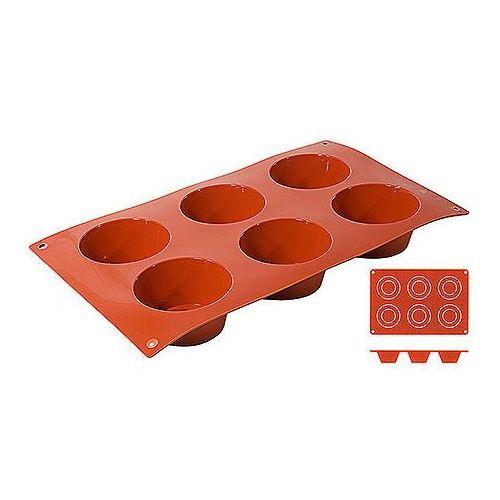 Mata silikonowa na muffinki, 6 foremek o średnicy 69 mm | , 6634/076 marki Contacto