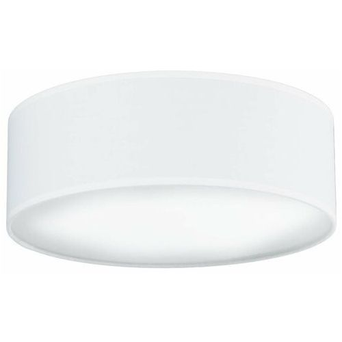 Plafon LAMPA sufitowa MIKA ELEMENTARY M 1/C/WHITE Sotto Luce okrągła OPRAWA abażurowa biała (5902429621451)