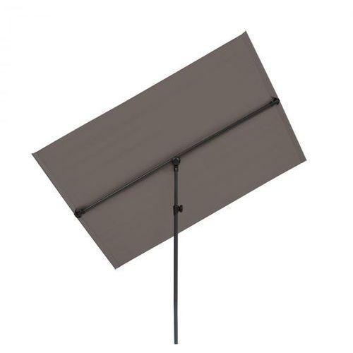 Blumfeldt flex-shade l, parasol przeciwsłoneczny, 130 x 180 cm, poliester, uv 50, ciemnoszary (4060656225437)