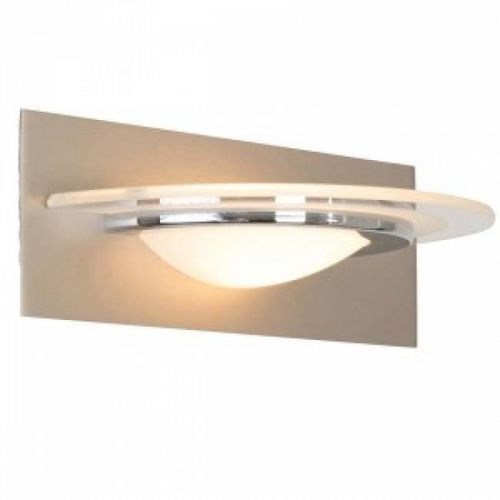 Steinhauer HUMILUS lampa ścienna LED Stal nierdzewna, 1-punktowy - Nowoczesny - Obszar wewnętrzny - HUMILUS - Czas dostawy: od 2-3 tygodni (8712746095265)
