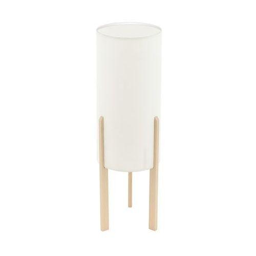 Lampka Eglo Campodino 97892 stołowa nocna 1x60W E27 beżowa/brązowa H-500mm (9002759978921)