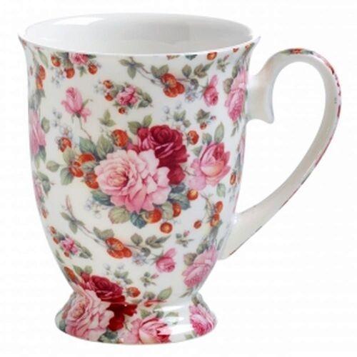 Maxwell & Williams - Royal Old England - Kubek owalny, Letnia Róża Angielska