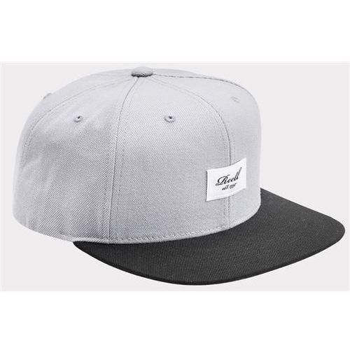 czapka z daszkiem REELL - Pitchout 6-Panel Blue-Grey / Black (BLUE-GREY / BLACK), kolor niebieski