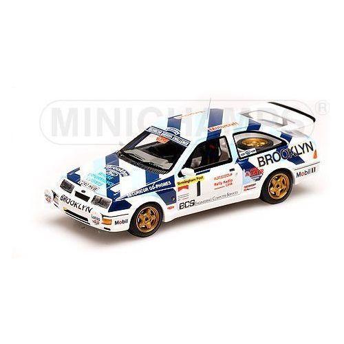 Minichamps Ford sierra rs cosworth #1 ayrton senna rally test 1986 - darmowa dostawa! (4012138083967)