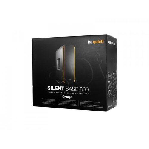 Obudowa tower  silent base 800 | orange czarny - pomarańcz marki Be quiet!