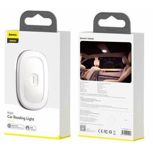 Baseus Bright Car | Bezprzewodowa lampka do samochodu latarka magnetyczna