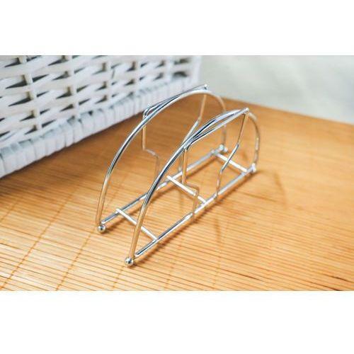 Giardino home serwetnik metalowy 13.5 x 8 x 3.5 cm marki Giardino / home-akcesoria kuchenne