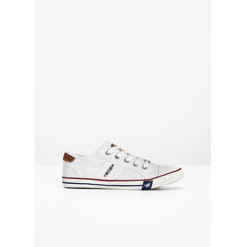 Bonprix Sneakersy mustang biały