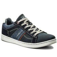 Sneakersy LANETTI - MP07-17067-01 Granatowy