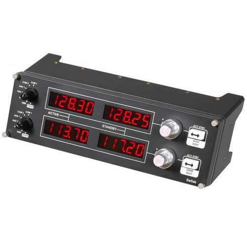 Joystick  g saitek pro flight radio panel usb + zamów z dostawą jutro! + darmowy transport! marki Logitech