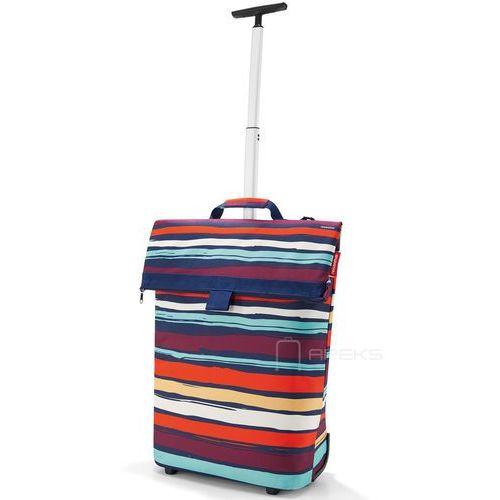 Reisenthel Wózek na zakupy trolley m artist stripes (4012013595387)