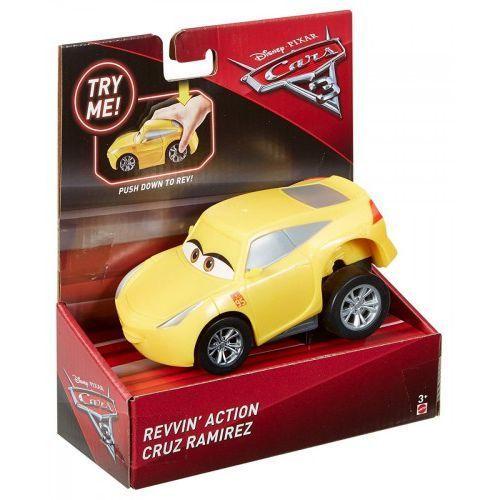 Mattel cars 3 auto naciśnij i jedź, cruz ramirez