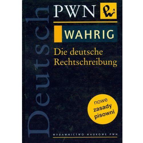 WAHRIG Die deutsche Rechtschreibung, PWN