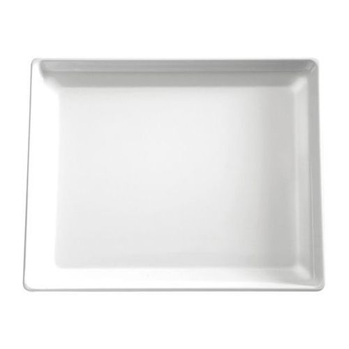 Taca prostokątna z melaminy   biała   różne wymiary marki Aps