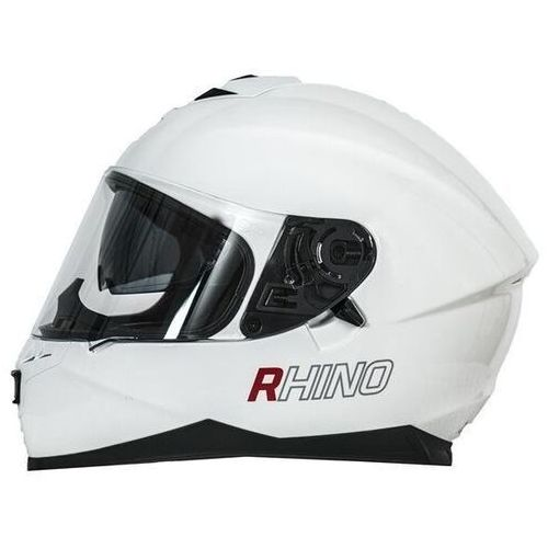 RHINO KASK RACER WHITE GLOSS+PINLOCK