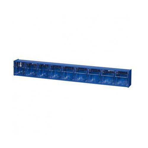 Allit Szafki z odchylanymi szufladami proflip, 9 szuflad