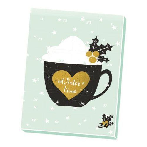 Kalendarz adwentowy z kawą i herbatą