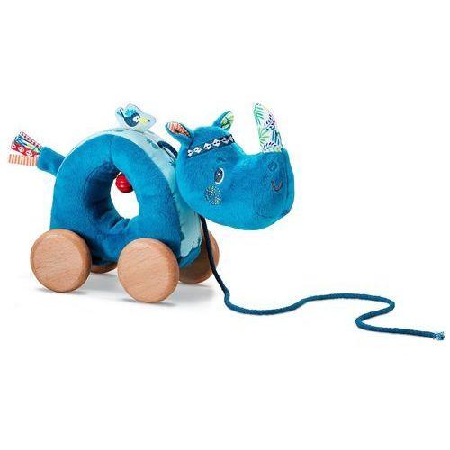 Zabawka do ciągnięcia na sznurku Lilliputiens - Nosorożec Marius L83059