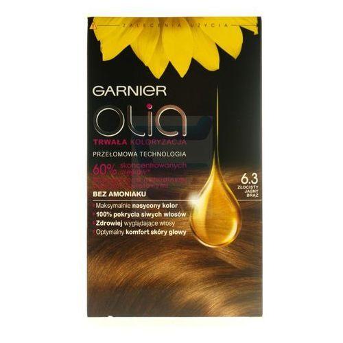 Garnier Olia farba do włosów bez amoniaku złocisty jasny brąz nr 6.3