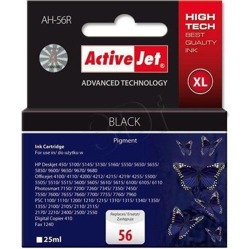 Tusz ActiveJet AH-56R (AH-656) czarny do drukarki HP - zamiennik HP 56 C6656A - sprawdź w wybranym sklepie