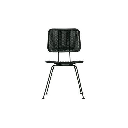 Woood krzesło do jadalni set of 2 hilde czarne 373635-z