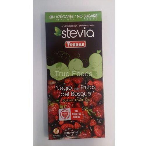 Czekolada stevia owoce leśne 125g