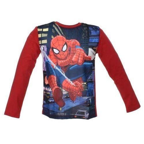 Bluzka z długim rękawem spider-man - czerwony ||kolorowy marki Licencja - marvel