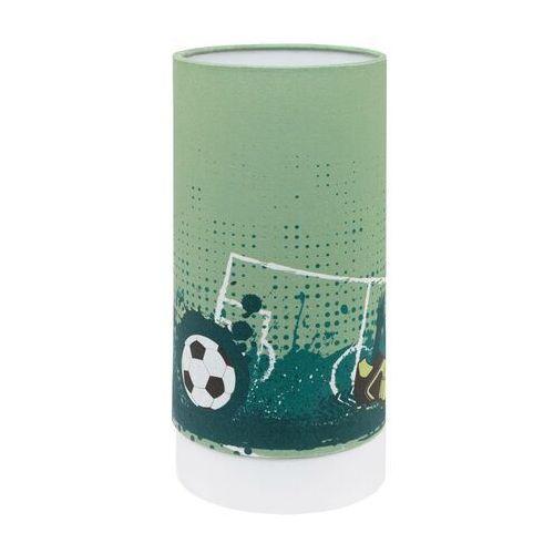 Eglo Tabara 97763 Lampka stołowa dziecięca 1x6W LED zielona/biała