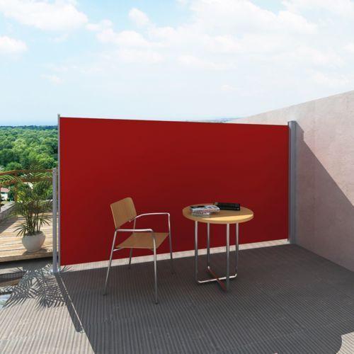 Vidaxl  markiza boczna 180 x 300 cm czerwona (8718475873259)