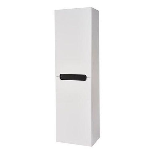 Słupek łazienkowy wysoki milano 40 x 134 x 30 cm biały marki Deftrans