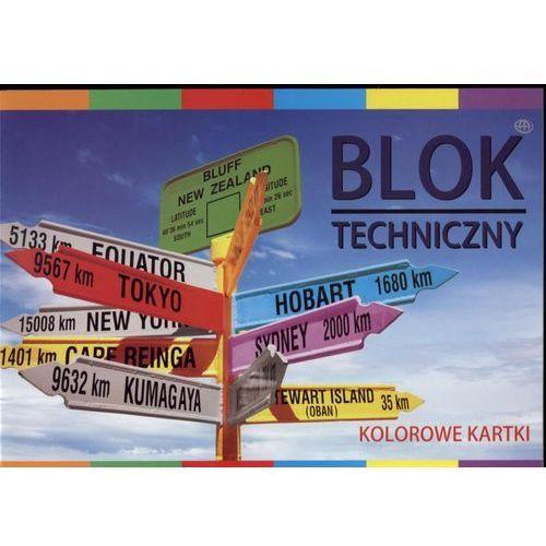 Blok techniczny kolor a4 10 bpz marki Interdruk