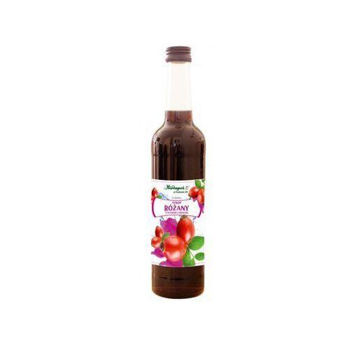 Syrop różany z płatków i owoców 400ml marki Herbapol kraków