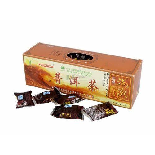 Yunnan: herbata czerwona prasowana w kostkach - 125 g