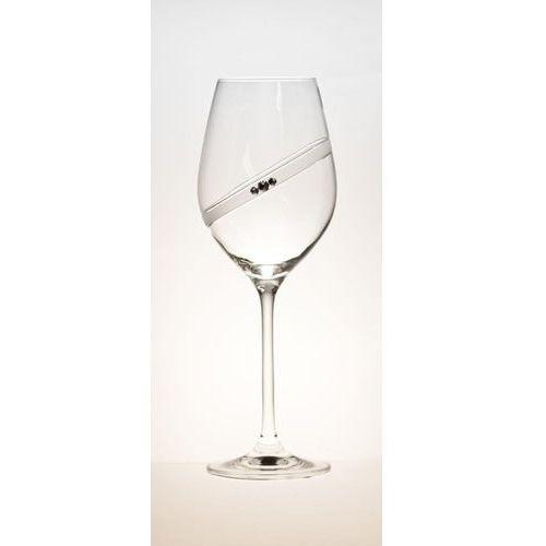 kieliszki do białego wina sparkling ring 2 sztuki 360 ml marki B. bohemian