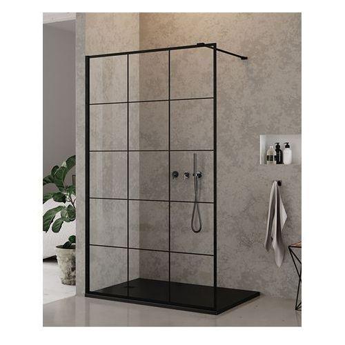 Ścianka 90 cm EXK-0104 New Modus Black New Trendy DODATKOWY RABAT W SKLEPIE NA KABINĘ (5902276323973)