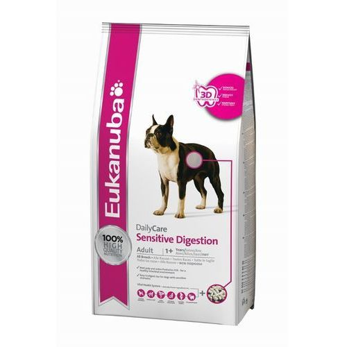 EUKANUBA DAILY CARE SENSITIVE DIGESTION 25KG (12,5x2) + DENTIC!, 1743-370110