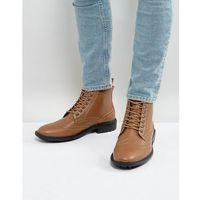 brogue boots in tan - tan, Brave soul