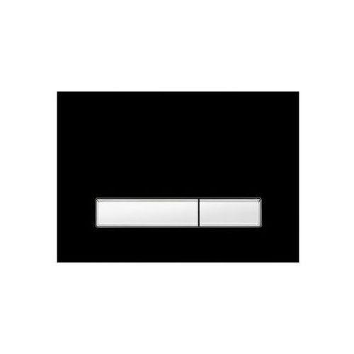 Przycisk spłukujący do stelaża vitrum grande v1 czarny marki Kk-pol