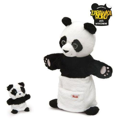 Trudi Pacynki na rękę panda i maleństwo - mama i dziecko