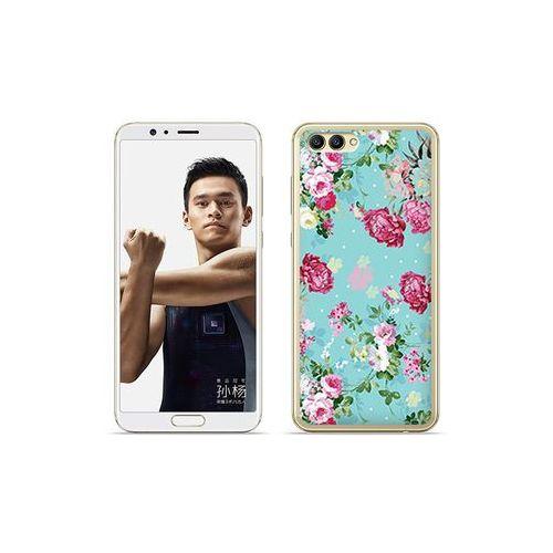 etuo Fantastic Case - Huawei Nova 2S - etui na telefon Fantastic Case - różyczki na miętowym tle, ETHW652FNTCFC007000