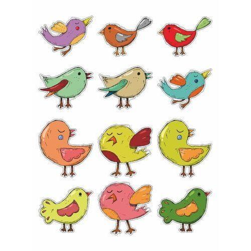 Naklejki na ścianę zestaw ptaszki 2388 marki Wally - piękno dekoracji