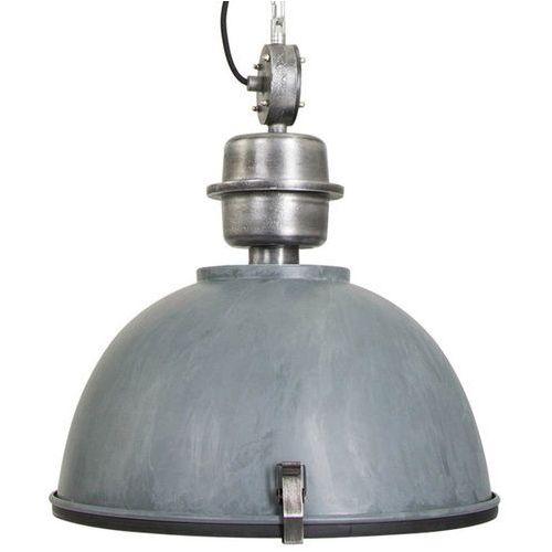 Steinhauer Przemysłowa lampa wisząca stal beton-szara - gospodin