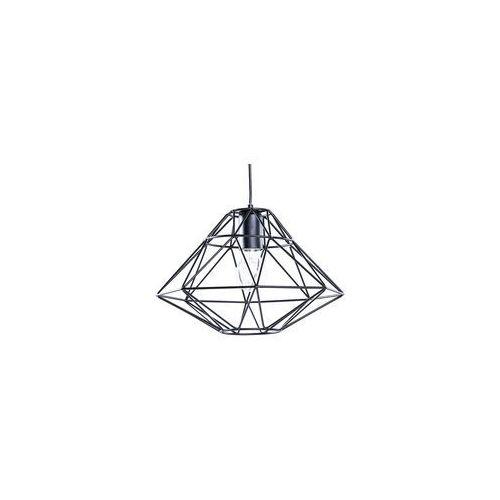 Beliani Lampa wisząca czarna guam (4260580922321)