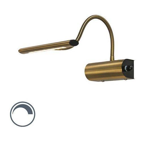 Nowoczesny kinkiet brąz zawiera LED - Tableau