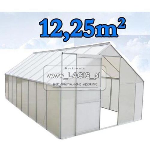 SZKLARNIA OGRODOWA - aluminiowa 12,25m2