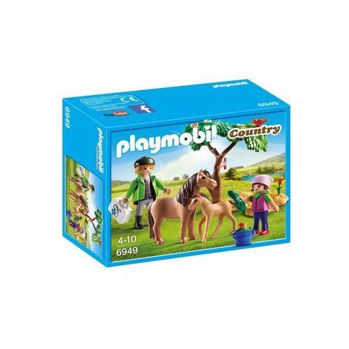 Playmobil COUNTRY Kucyk mama ze źrebaczkiem 6949 - BEZPŁATNY ODBIÓR: WROCŁAW!
