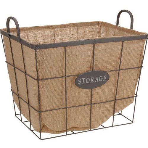 Koszyk tekstylny storage na owoce i warzywa, 42x32x32cm marki Emako